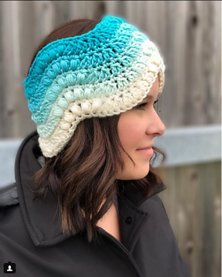 Winter Waves Headband